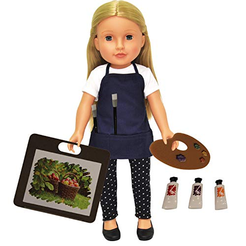 The New York Doll Collection Set de Arte de 11 Piezas para muñecas de 45 cm-Se Adapta a American Girl Doll (43227-33)