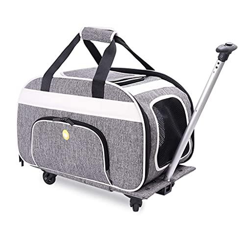 SSeir Pet Travel Stroller Perrito Perrito PRAM Jogger con 4 Ruedas Carrera DE Carreras con Correo DE Correo DE Seguridad DE Coche Caliente DE Dog