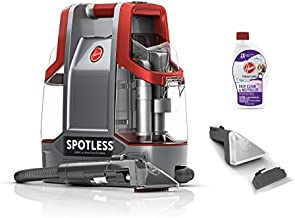 Hoover Spotless Portable Carpet & Upholstery Spot Cleaner, FH11300PC, Red Spotless