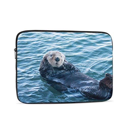 2018 MacBook Air Case California Sea Otter in Morro Bay On The Central C Laptop Hard Shell Case Multi-Color & Size Choices10/12/13/15/17 Inch Computer Tablet Briefcase Carrying Ba