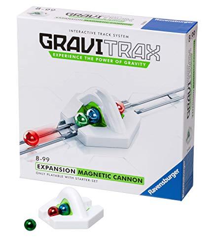 Ravensburger 27600 Gravitrax Cañón Magnético, Accesorio, 8+ Años, Juego Lógico-Creativo, Juego STEM