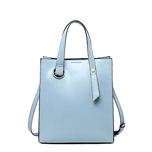 Dreifarbige optionale Handtasche mit großer Kapazität Tragbare Damen-Ledertasche Handtasche Praktische Tasche for den täglichen Pendler Platz for Zeitschriften, Mobiltelefone, Laptops usw. Geeignet fü