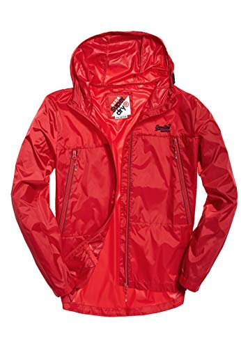 Superdry jack heren offshore Packable Cagoule True Red