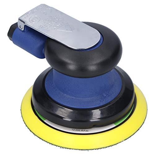 Socobeta Pulidor de tampón de coche, 1 llave inglesa, 1 boquilla de aire, máquina de lijado neumática, para detalles de barcos para encerado de automóviles (americano)