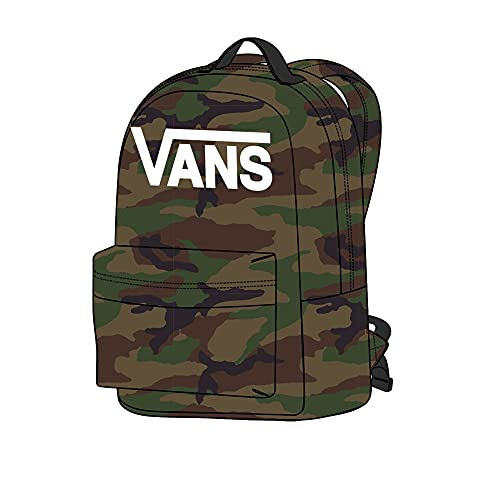 Vans New Skool Backpack Boys, Zaino Unisex-Bambini, Classic Camo-Bianco, Taglia unica