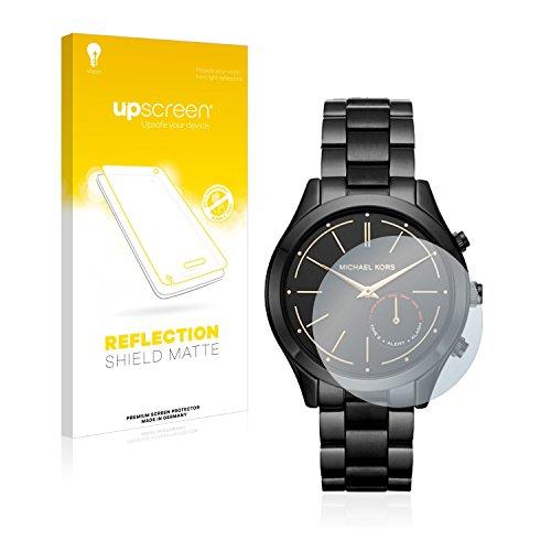 upscreen Entspiegelungs-Schutzfolie kompatibel mit Michael Kors Access Slim Runway (42 mm) – Anti-Reflex Bildschirmschutz-Folie Matt