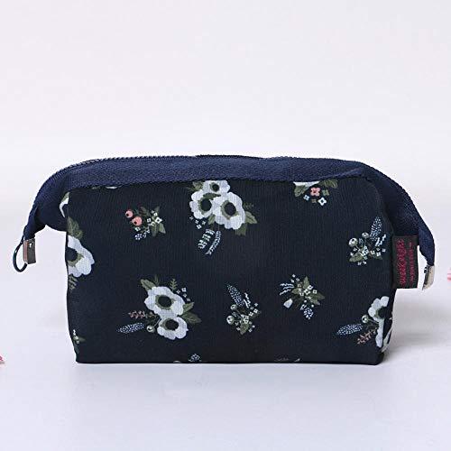 Sxuefang kosmetiktasche,Polyester de Sac cosmétique créative Multifonctionnel en Trois Dimensions Grande capacité 13 * 10 * 19 cm