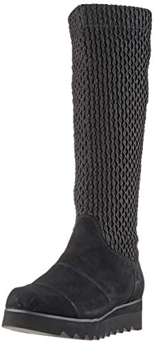 Gerry Weber Shoes Damen Udele 07 Hohe Stiefel, Schwarz (Schwarz Vl866 100), 38 EU