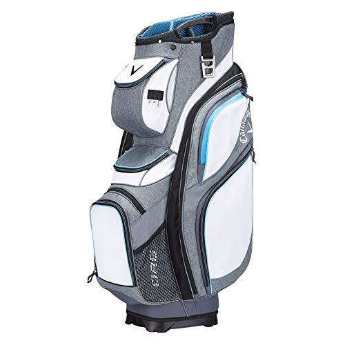 Callaway Golf Org 14 Cart Bag Golf Bag Cart 2017 Org 14 White/Titanium/Blue