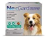 Antipulgas e Carrapatos Nexgard para Cães de 10 a 25 kg - 3 Unidades