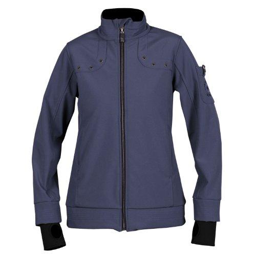 iQ-Company Damen Softshell Jacke Dive Club Jacket, 2491_deep-blue, XL, 260395_2491_XL