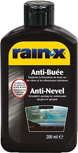 Rain-X R26022 Anti-Buée bouteille, Pare-brise de voiture, vitres de salle de bain, 200 ml