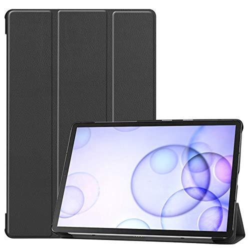 Slabo - Funda para Tablet Samsung Galaxy Tab S6 2019 con función de Apagado automático y Cierre magnético, Color Negro
