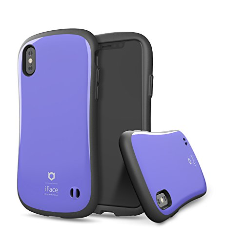 iFace [First Class] Hard Case with Embedded Magnetic Plate [Car Mount Compatible] [Military Drop Test Certified] for Apple iPhone X, XS - Purple