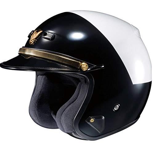 Casco de policía Motocicleta de moda Casco de crucero