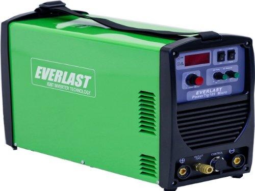 Everlast Powertig 185 Micro AC DC Tig Welder 110/220 Volt Inverter