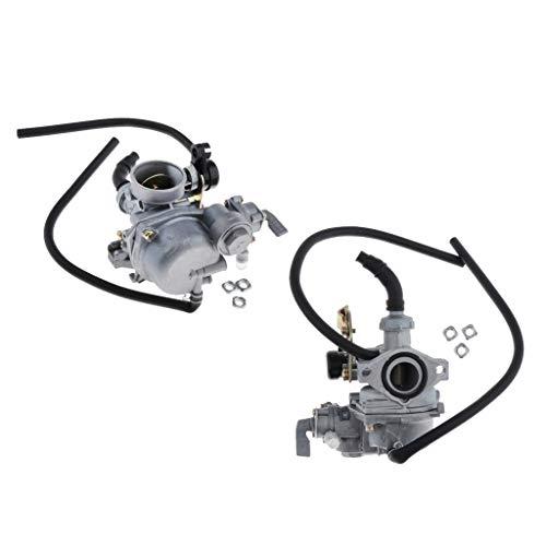 balikha Carburador de 2 Piezas de 19 Mm para DY100 CD110 Racing Quad ATV Scooters