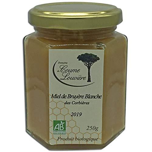 Miel Bio de Bruyère Blanche des Corbières 250 g