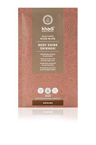 Khadi Ayurvedische Haarmaske Deep Shine Shikakai vegan 50 g