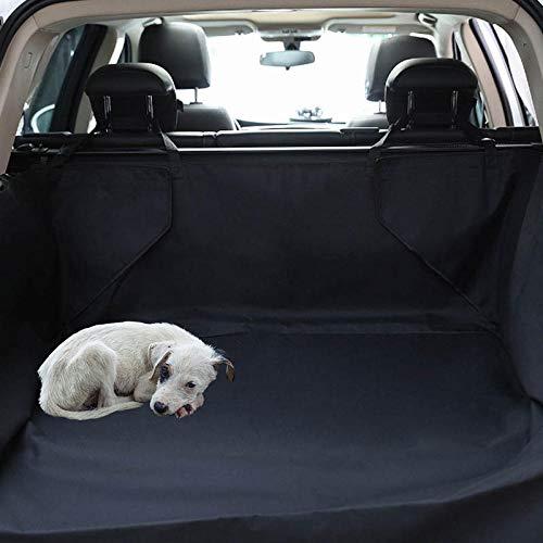 Whinop Coches para Perros Negro Manta Protectora Perro Coche para Perros Pequeños y Medianos, Funda Impermeable para Asiento de Coche con Bolsa, Extremadamente Duradera y Fácil de Instalar