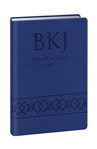 Bíblia King James Ultrafina Gigante - Azul