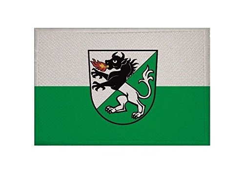 U24 Aufnäher Kisslegg Fahne Flagge Aufbügler Patch 9 x 6 cm