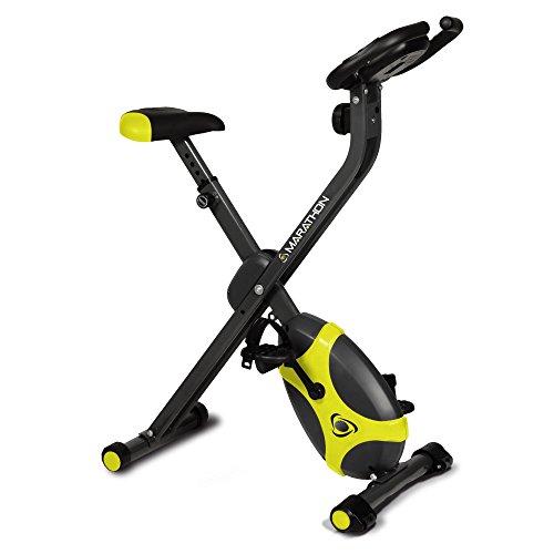 Marathon Easy Plus Cyclette, Nero/Giallo