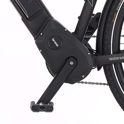 FISCHER Herren – E-Bike Trekking VIATOR 6.0i (2020), grau matt, 28 Zoll, RH 50 cm, Brose Drive S Mittelmotor 90 Nm, 36V Akku im Rahmen Bild 4*
