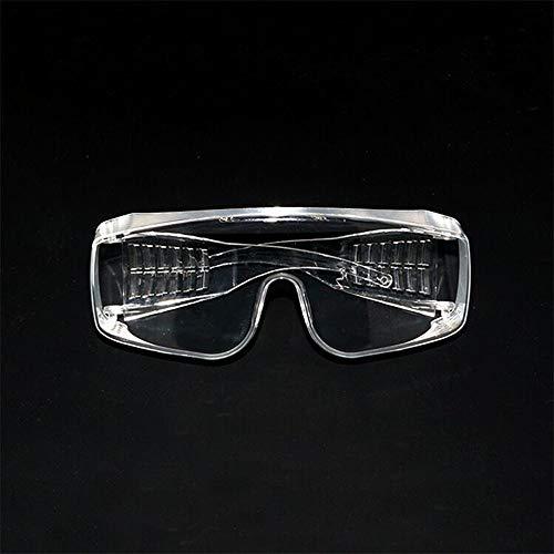 BaiHu Schutzbrille mit klaren Gläsern, Anti-Beschlag-Spuckschutz, Staub, Arbeitsbrille für Labor, Chemikalien