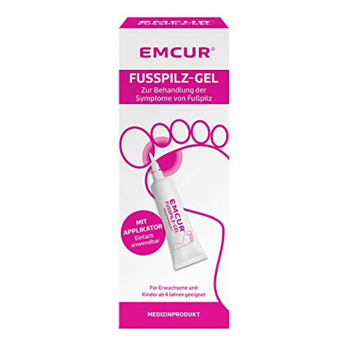 Emcur Fusspilz-Gel, mit Applikator, 15 ml
