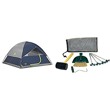 Coleman Sundome 6 Person Tent - Navy w/Tent Kit