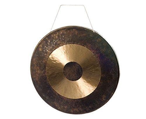 Chinesischer Gong, Ø 50 cm - Klänge Klangspektrum Klangvariationen anschlagen schlagen