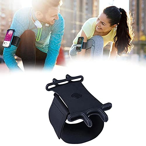 LMNH Mobile Phone Running Phone Bag, 360 Degree Rotation Phone Arm Bands for Running, Compatible with 4 to 6.5 Inch iPhone 13 Pro/13 Pro MAX/Mini/Samsung Galaxy (1PCS)