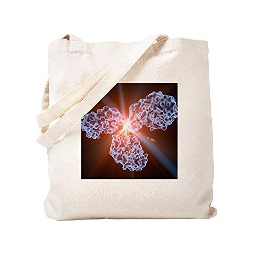 CafePress–Immunglobulin G Antikörper Molekül–Leinwand Natur Tasche, Reinigungstuch Einkaufstasche, canvas, khaki, S