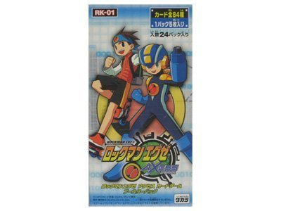 TAKARA TOMY Carte Rockman EXE Game Access Booster Pack [Pack 1 de 5 pièces 24 Pack]