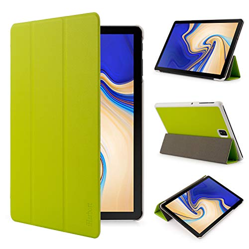 iHarbort Samsung Galaxy Tab S4 10.5 Case (2018 released SM-T830 / T835) - Lightweight Smart Stand Cover Holder for Samsung Galaxy Tab S4 10.5 Inch With Sleep/Wake Function, Green