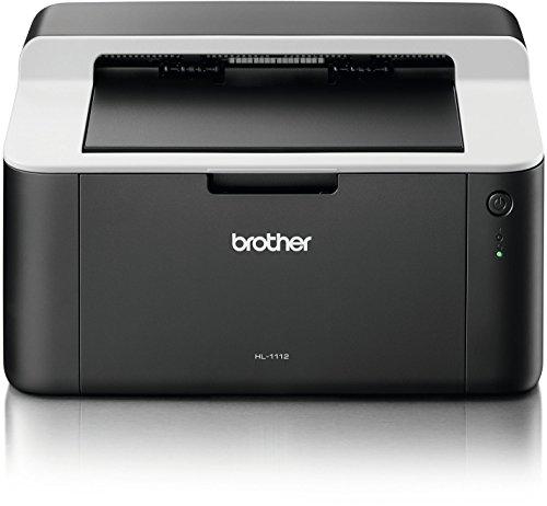 Brother HL-1112 - Impresora láser (2400 x 600 dpi, 10000 páginas por Mes, Laser, 21 ppm, 10 s, 1 MB)