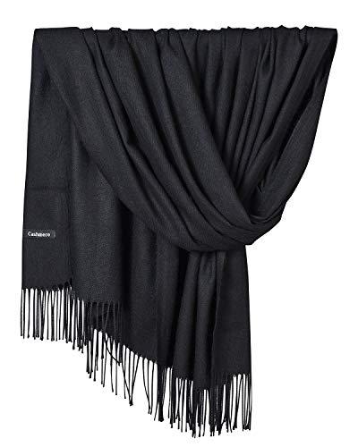 YAOMEI Unisex Mujer Bufanda, Mujer invierno lujosa ligera y suave Chales Estolas Fulares Bufanda Pañuelo caliente