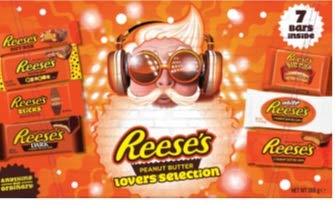 Reese's Chocolate Lovers Selection Box 285 g