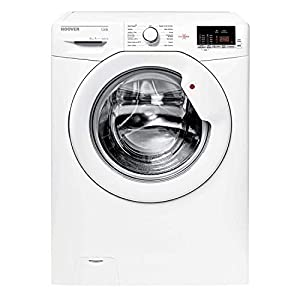 Hoover HL1482D3 8kg 1400rpm A+++ White Washing Machine with One Touch and Hoover Link