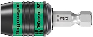 Wera Hexagon 887/4 R Ringmagnet Rapidator, Universal Bit Holder 1/4