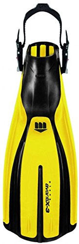 Mares Plana Avanti X3 ABS Geräteflosse (gelb, S (37-39))