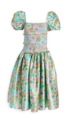 Hemant and Nandita Women's Nadia Long Dress, Kelly Green, X-Large