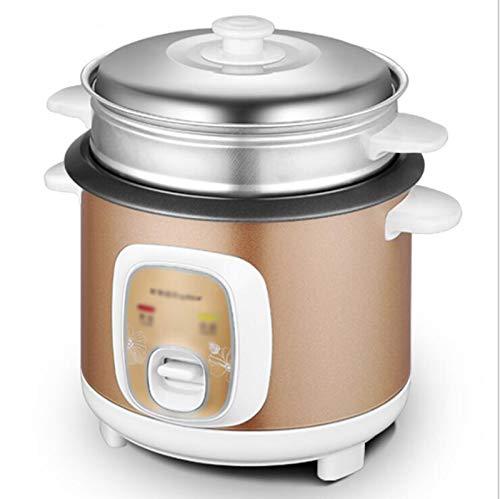 Cocina de arroz Cocina de arroz para el hogar antiguo Mini mini oleilla de arroz con cocción automática de vapor, limpieza fácil, protección de alta temperatura - Hacer arroz y vapor alimentos saludab