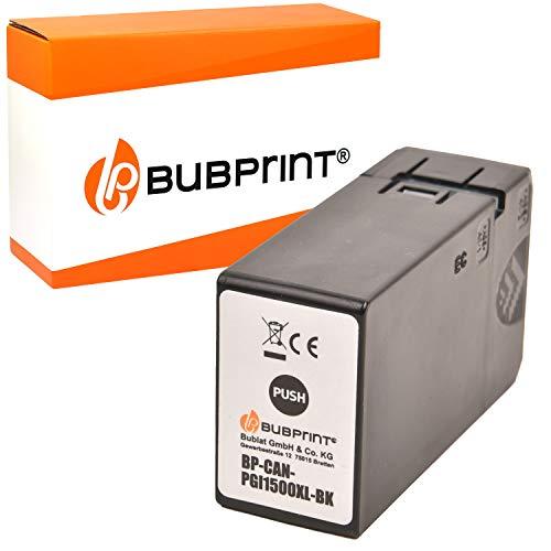 Bubprint Druckerpatrone kompatibel für Canon PGI-1500XL BK für Maxify MB2000 MB2050 MB2100 MB2150 MB2155 MB2300 MB2350 MB2700 MB2750 MB2755 Schwarz