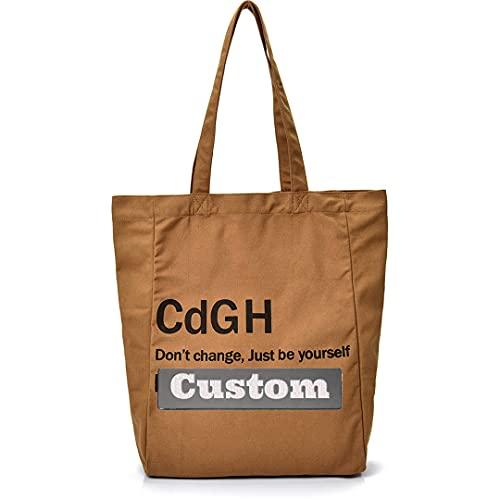 Nome personalizzato Handbag della maniglia superiore per le donne Borsa a tracolla in nylon Borsa da satchel per le donne Piccola fionda (Color : Kase, Size : One size)