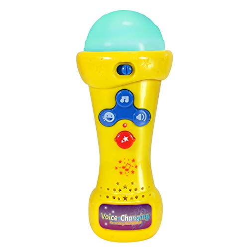 Little Pretender Kids Karaoke Microphone with Voice Changer,...