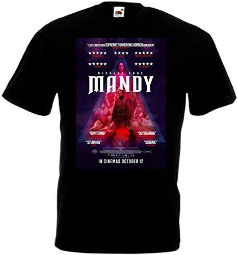 Mandy v19 T-Shirt Movie Panos Cosmatos Men's Unique Tee