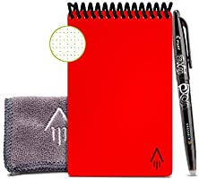 Rocketbook Everlast Mini Smart - Cuaderno reutilizable, Rojo, Mini A6