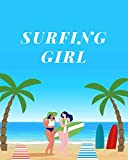 SURFING GIRL: The History of Surfing log book.